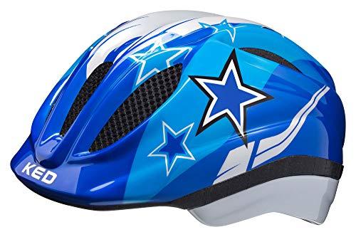 KED Meggy Helmet Kids 2019 Fahrradhelm, blue stars, S/M | 49-55cm