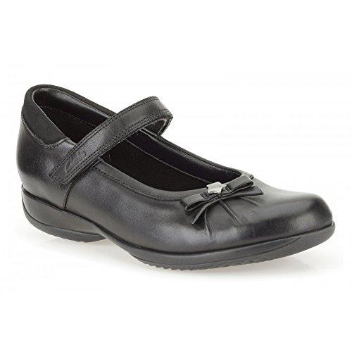 Clarks Des Mädchens Daisy Funke Schule Schuh Jr. Black Leather 4 G