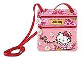 Graffiti Hello Kitty Umhängetasche, 17 cm, Pink