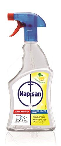 Napisan Spray Igienizzante Superfici Limone e Menta