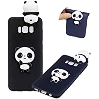 TPU Hülle für Samsung Galaxy S8 Plus,Weich Silikon Hülle für Samsung Galaxy S8 Plus,Moiky Komisch 3D Süß Panda Entwurf Ultra Dünnen Scratch Resistant Soft Rückseite Abdeckung Handyhülle