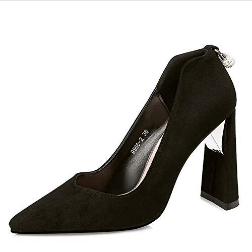 Pumps Schuhe Damen Pumps Mary Jane Halbschuhe Klassische Pumps Mode Spitz Flacher Mund Schuhe Mit...