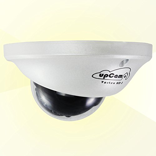 upCam Vortex HD S IP Kamera - Vandalensichere Überwachungskamera - Mini Dome Kamera mit Smart Poe/LAN (Sony Full HD Sensor, 1080p, Nachtsicht, App, Weitwinkel, 2MP) - Deutscher Hersteller und Support (Dome-kamera Cam)