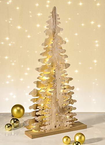 Tannenbaum Beleuchtet Kunststoff.Led Weihnachtsbaum Holz Christbaum 15 Leds Tannenbaum Beleuchtet Zum