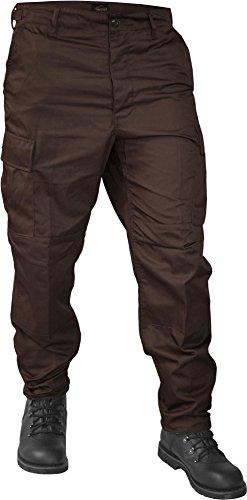 normani Lange Jagdhose Jägerhose aus robustem Baumwollmischgewebe Farbe Braun Größe S