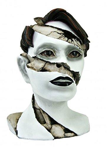 Büste Frauengesicht unter dem Makeup Schädel (Up Make Grim Reaper)