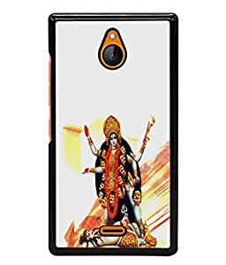 PrintVisa Designer Back Case Cover for Nokia X2 (Shiva Under Feet Of Maa Durga)