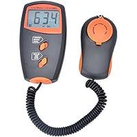 Pyle–Luxómetro de bolsillo digital Luxómetro LX1010BS medición de la luz: 1, piel sintética ~ 100,000lux