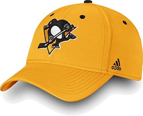 Adidas Jersey Cap (adidas Pittsburgh Penguins Team Logo Slouch Adjustable Snapback Hat Gold)