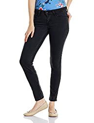 Levis Womens Skinny Jeans (34121-0011_Black_28)