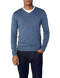 TOM TAILOR Herren Pullover Basic V-Neck Sweater