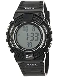 Zoop Digital Natural Dial Children's Watch -NKC4040PP06