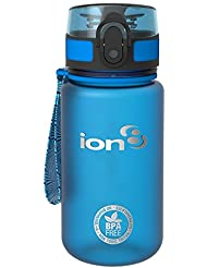 Ion8 Leak Proof Kids Water Bottle, BPA Free, 350ml / 12oz