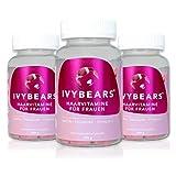 IvyBears Haar Vitamine vollgepackt mit Biotin, Folsäure, Haarvitamine und Mineralstoffen (Women's Edition 3-er Pack)