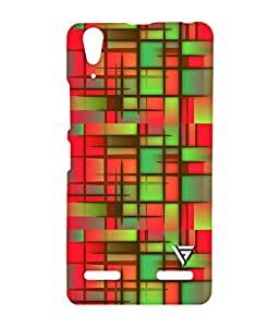 Vogueshell Mashed Pattern Printed Symmetry PRO Series Hard Back Case for Lenovo A6000