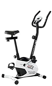 JK FITNESS Tekna 1550 Cyclette Magnetica, Bianco/Nero