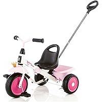 Kettler Happytrike - das coole Dreirad mit Schiebestange - Kinderdreirad für Kinder ab 2 Jahren - mitwachsendes Kinderfahrzeug inkl. kippbarer Sandschale