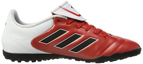 adidas Copa 17.4 Tf, Scarpe da Calcio Uomo Rosso (Red/core Black/ftw White)