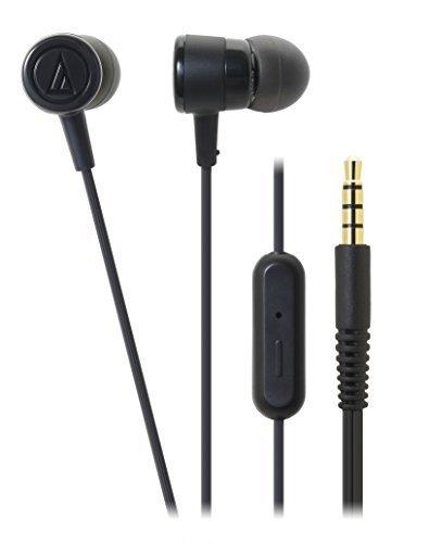 Audio-Technica-ATH-CKL220iSBK-In-Ear-Headphones-with-Mic
