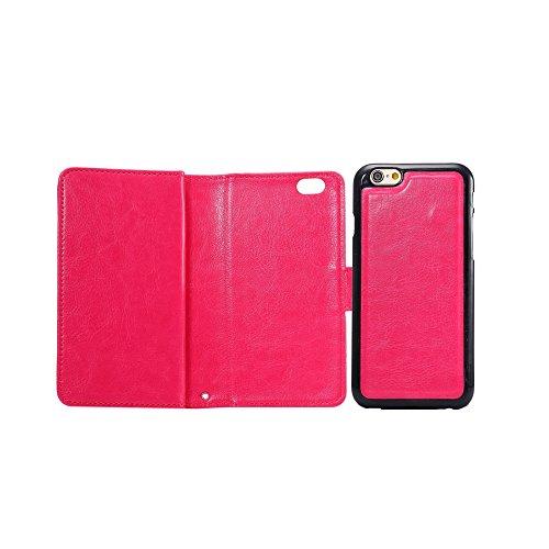 Levanpro 2 en 1 Étui Portefeuille en Cuir PU + Cadre Photo Détachable Housse pour iPhone 6 / iphone 6s E