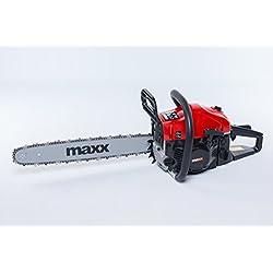 Maxx Tronconneuse thermique a essence 52cc 50cm