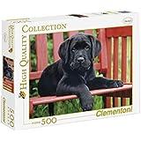 Clementoni - Puzzle de 500 piezas, High Quality, diseño El Perro Negro (303465)