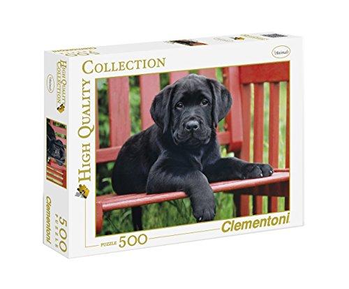 Clementoni - Puzzle de 500 Piezas,, diseño El Perro Negro (303465)