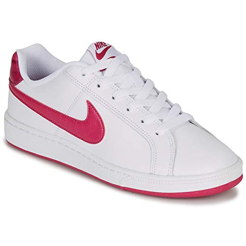 Nike Wmns Court Royale, Scarpe da Tennis Donna, Bianco (White/Wild Cherry/Noble Red 119), 36 EU