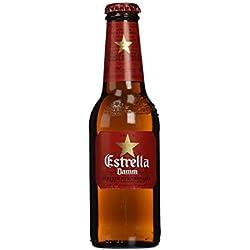 Estrella Damm Cerveza Mediterránea - Paquete de 12 x 25 cl - Total: 3000 ml