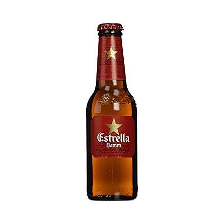 Estrella Damm Cerveza Mediterr nea Paquete de 12 x 25 cl Total 3000 ml