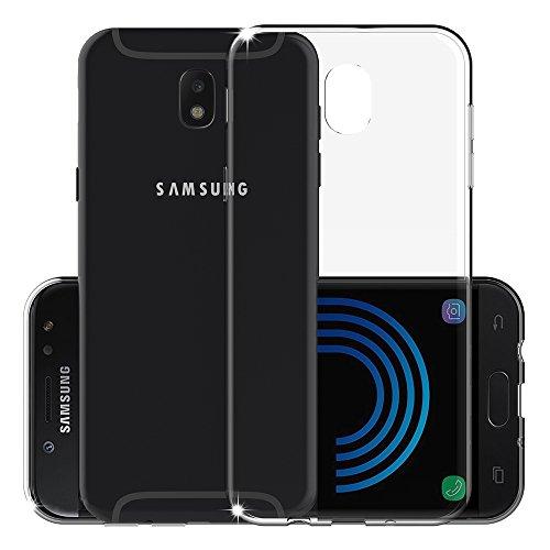 [2 PACK] Samsung Galaxy J5 ( 2017 ) Case ( European Version ), ANEWSIR Transparent Clear TPU Soft Silicone Phone Case Protector For Samsung Galaxy J5 ( 2017 ).