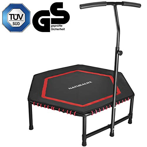 NATURALIFE Mini trampolín Fitness Manillar