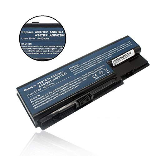 Ersetzt Laptop Akku AS07B31 AS07B41 AS07B51 AS07B71 für Acer Aspire 5230 5330 5535 5710 7720 Series Batterie -10.8V 4400mAh -
