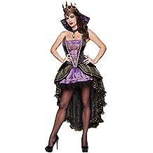 Disfraz de Reina Malvada mujer adulto para Halloween (S)