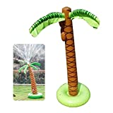 MOGOI Aufblasbare Palme Hof, Sprinkler Spielzeug, Kinder Spray Wasser Spielzeug Outdoor Party Sommer Spaß Wasser Spielzeug für Garten Schwimmbad Spielen