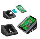 reboon Tablet Kissen für das Blaupunkt Polaris 808 BE - ideale iPad Halterung, Tablet Halter, eBook-Reader Halter für Bett & Couch