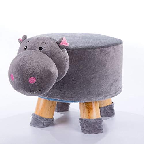 Divano per bambini cartone animato simpatico animale scarpe panca in legno massello sgabello per la casa piccola panca cartoon divano sgabello per bambini