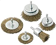 STEEL WIRE BRUSH 5 PCS SET