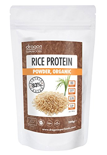 isprotein 200g (bio, roh, vegan) Reis-Eiweiß-Pulver 80% ()