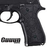 Guuun Beretta 92 Griffe Pistolen-Hartschalenkoffer Gun Zubehör G10 Volle Größe 92fs 96 M9 92A1 96A1 92 INOX Grip