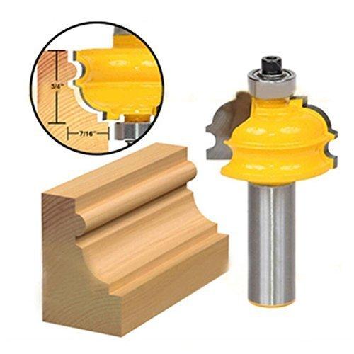 1Stück 1/5,1cm Schaft Router Bit, Holz-Router Bit, Holz Fräser-Bit, Schrank Tür Line Holz-Cutter Holz DIY Werkzeug