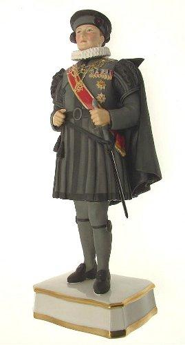Royal Worcester Privy Chamberlain der Schwert und Cape, der Papst im spanischen Kostüm Prototyp Figur rw3589F391