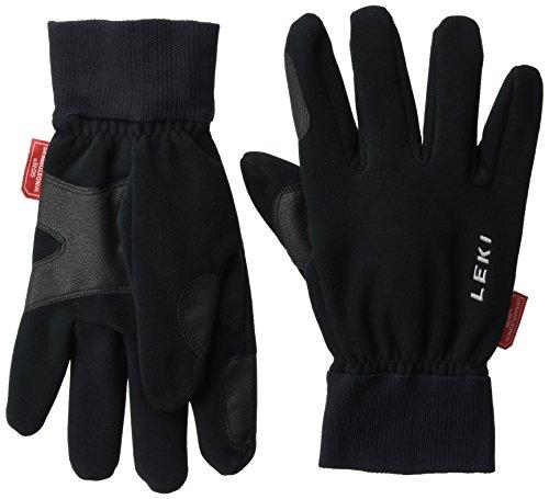LEKI Herren Handschuhe Windstopper Fleece, Black, 11, 63581423110 (Herren Polyester Handschuh)