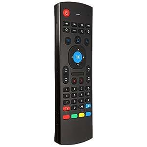 ELEGIANT 2.4GHz USB Air Souris Capteur Sans Fil Clavier Télécommande Pr PC Android TV Box