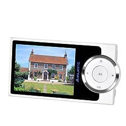 """Majestic SDA80646.096 cm (2.4 """") LCD, Cam. 3.2MP, FM, USB 2.0, biancoSpecifiche:ModelloMP4Lettore di Scheda IntegratoSiCapacità di Memoria Totale8 GBTipo di SupportoFlash-mediaTipo di Scheda di MemoriaMicroSD (TransFlash)Tipo DisplayLCDDimensione6,1 ..."""