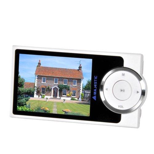 Majestic SDA 8064 - Lettore MP3/MP4 con Fotocamera da 3.2 MP, memoria 8G, Display da 2.4', Radio,...