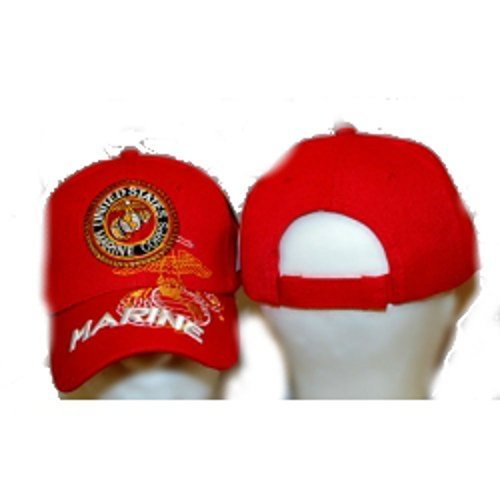 us-marines-usmc-red-embroidered-baseball-cap-hat-by-rfco