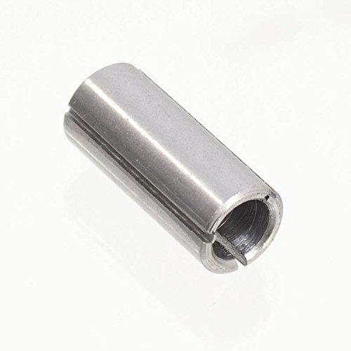 Spannzange 12 mm auf 8 mm Oberfräse Stabschleifer Reduzierhülse 12/8 mm
