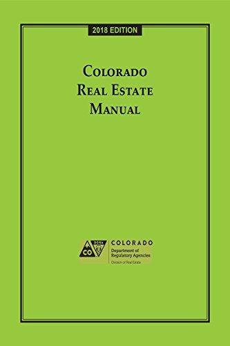 Colorado Real Estate Manual