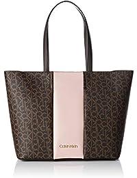Calvin Klein Jeans Damen Mono Block Shopper Schultertasche, 15x30x47 cm